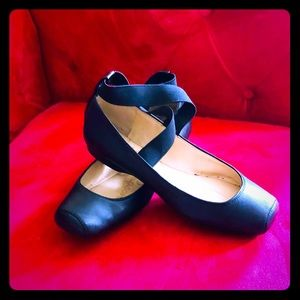 Jessica Simpson ballet style leather flats Sz 7
